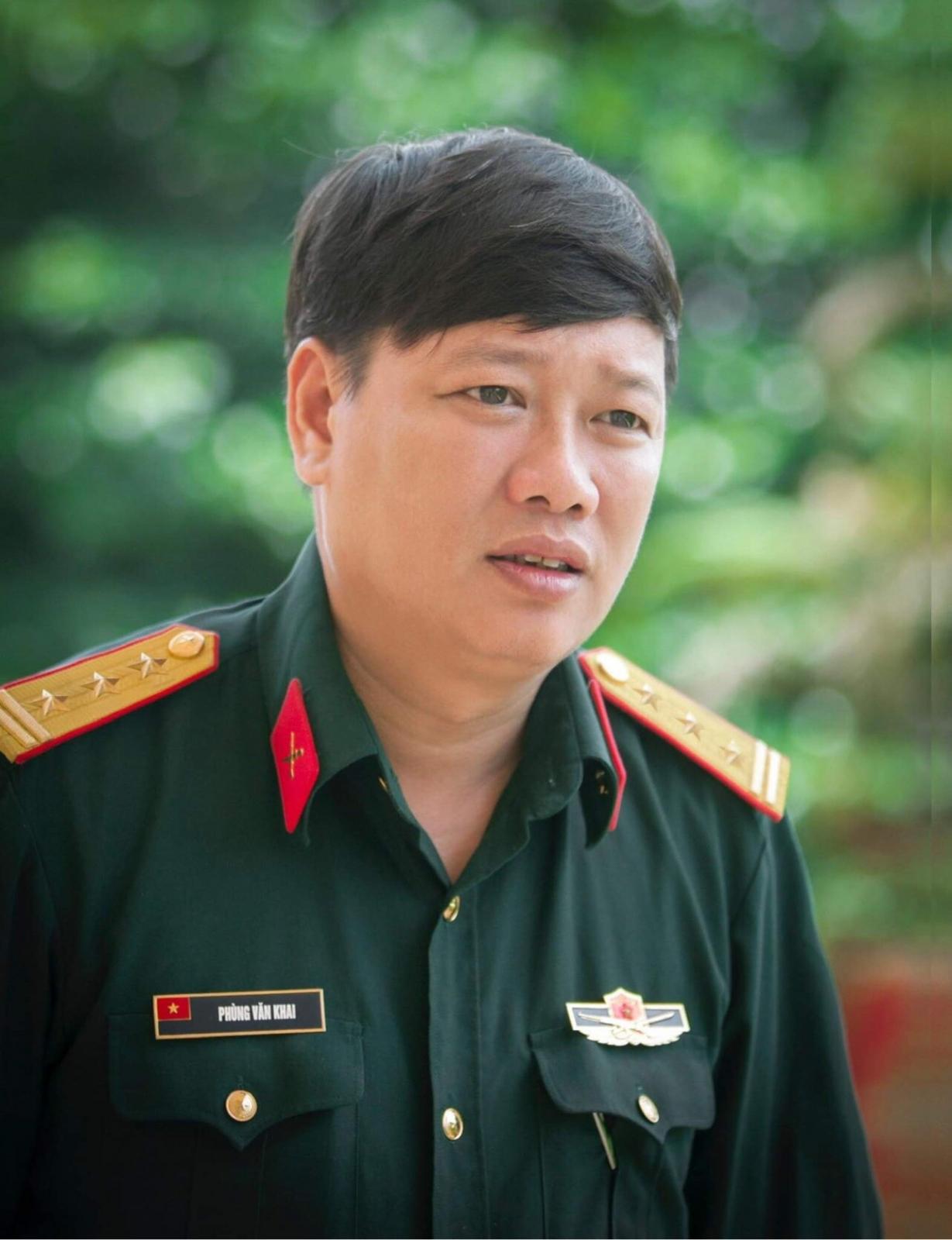 Nhà văn quân đội Phùng Văn Khai: Tôi đến với lịch sử như một cái duyên