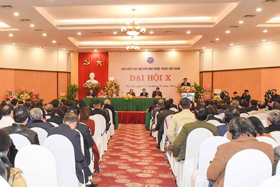 Đại hội Liên hiệp các Hội Văn học nghệ thuật Việt Nam lần thứ X nhiệm kỳ 2020- 2025